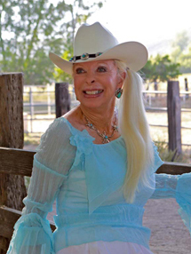 Andria Kidd - Cowboy poetry that sings from  rural California's beloved horse whisperer Andria Kidd, an International Songwriter Award Nominee and Western Music Association favorite.